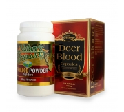 Deer Blood Powder 500mg 180cap